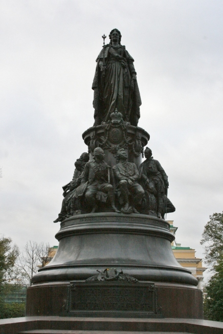 Catherine the Great Ekaterininskiy Skver St. Petersburg Russia