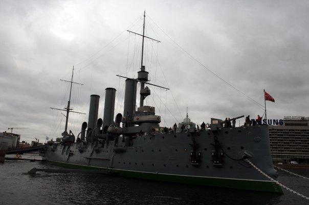 Cruiser Aurora St Petersburg Russia