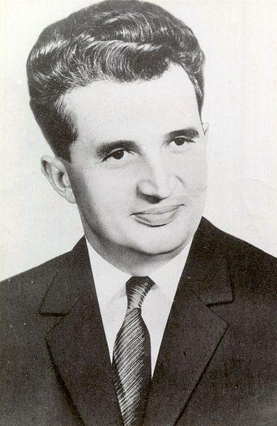 Nicolae Ceausescu Communist Dictator Romania