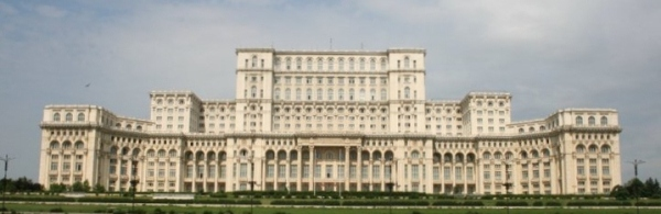 Palace of the Parliament Bucharest Romania