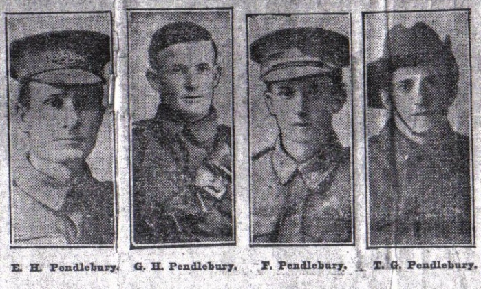 Pendlebury Brothers AIF World War One