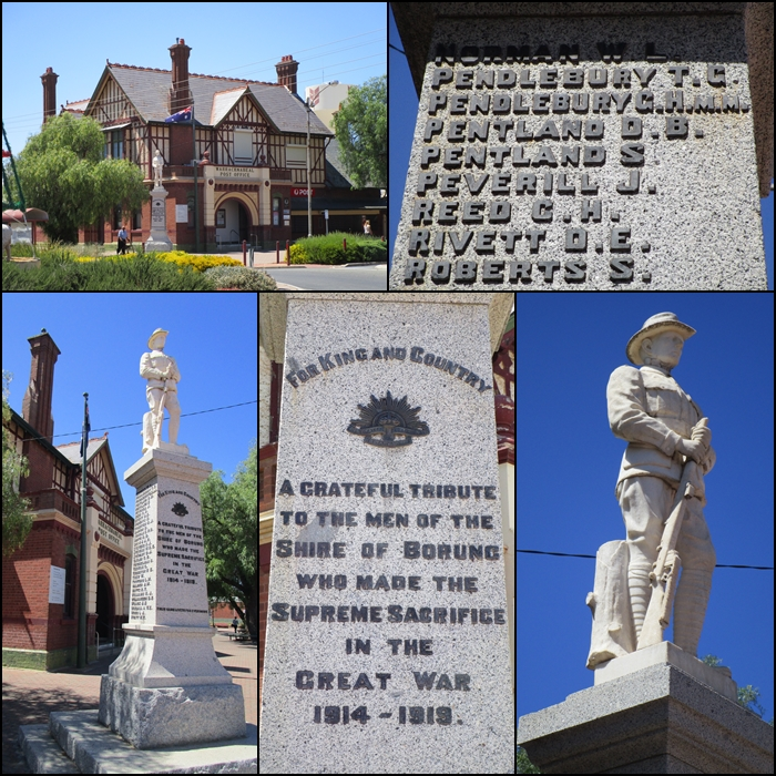 "Warracknabeal War Memorial ""For King and Country"" 1914-1919 WW1"