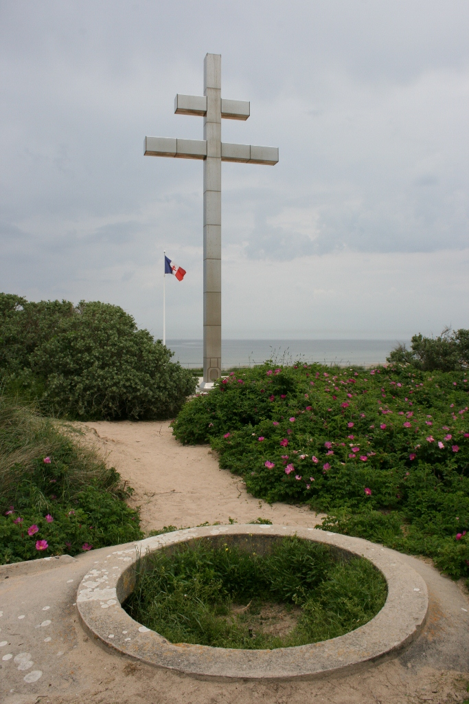 Free French Memorial Juno Beach Normandy