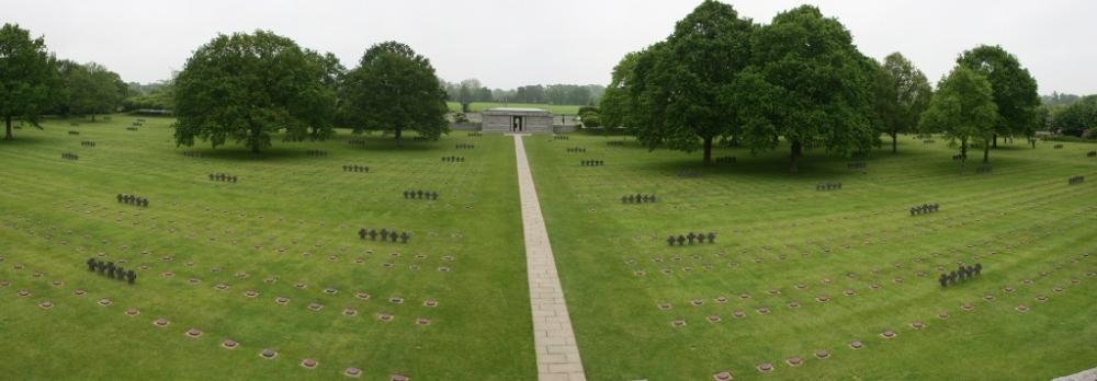 German Military Cemetery La Cambe Normandy