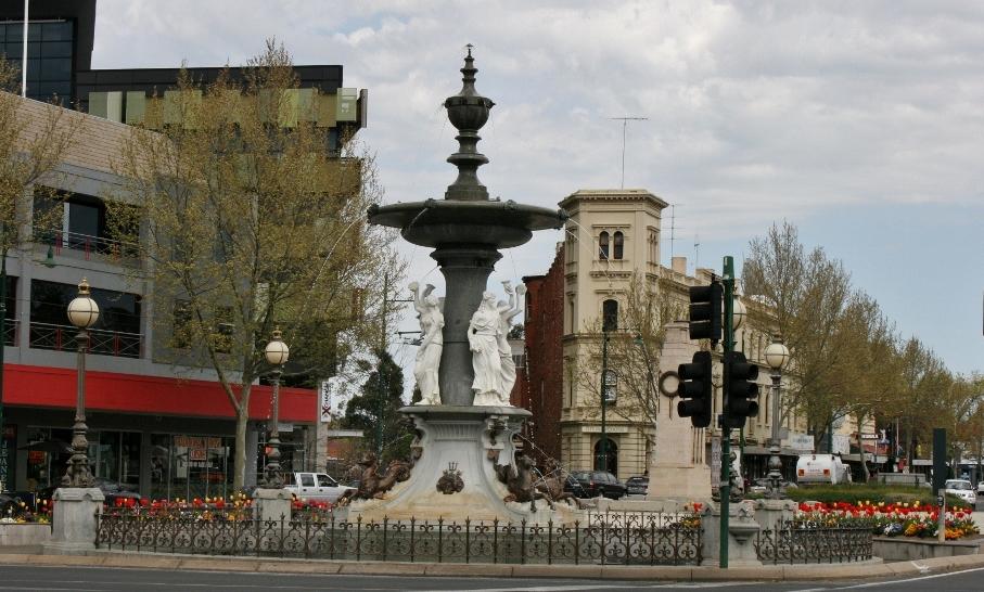 Alexandra Fountain Bendigo Victoria