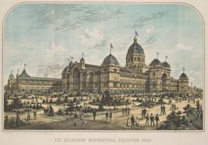 International Exhibition 1880 Melbourne Australia