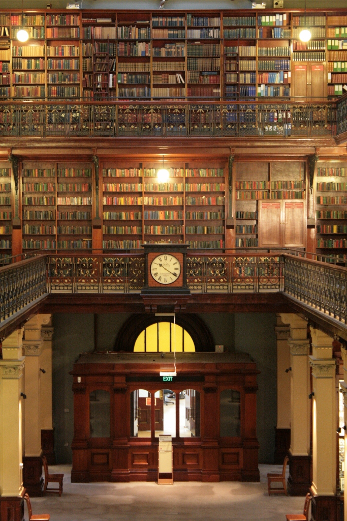 Mortlock Wing Historic Books State Library of South Australia Adelaide