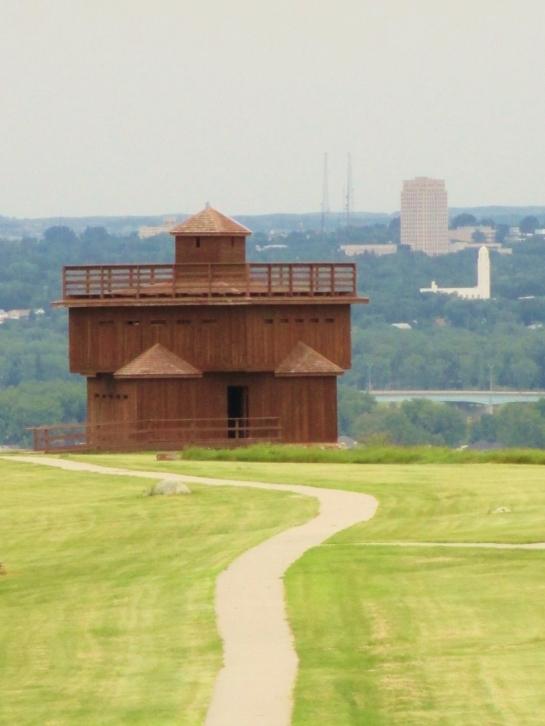 Infantry post @ Fort Abraham Lincoln State Park