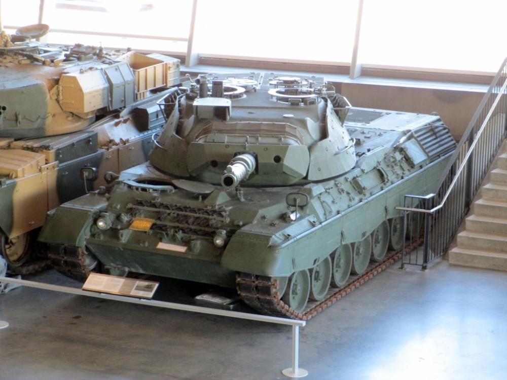 Canadian Forces Leopard C2 Main Battle Tank