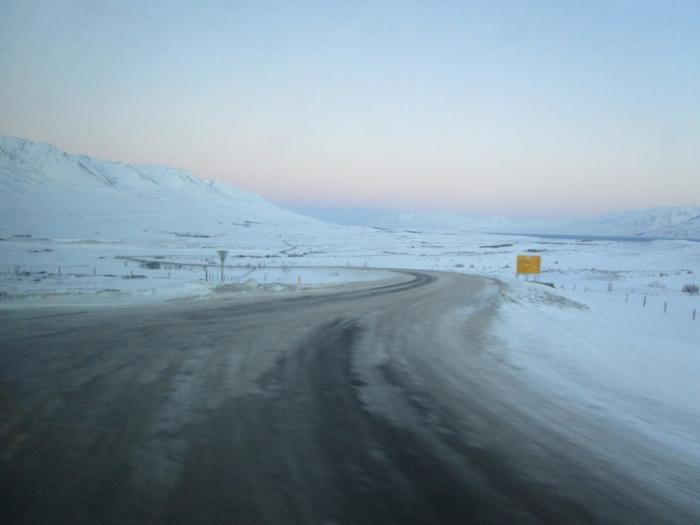 Iceland bus journey