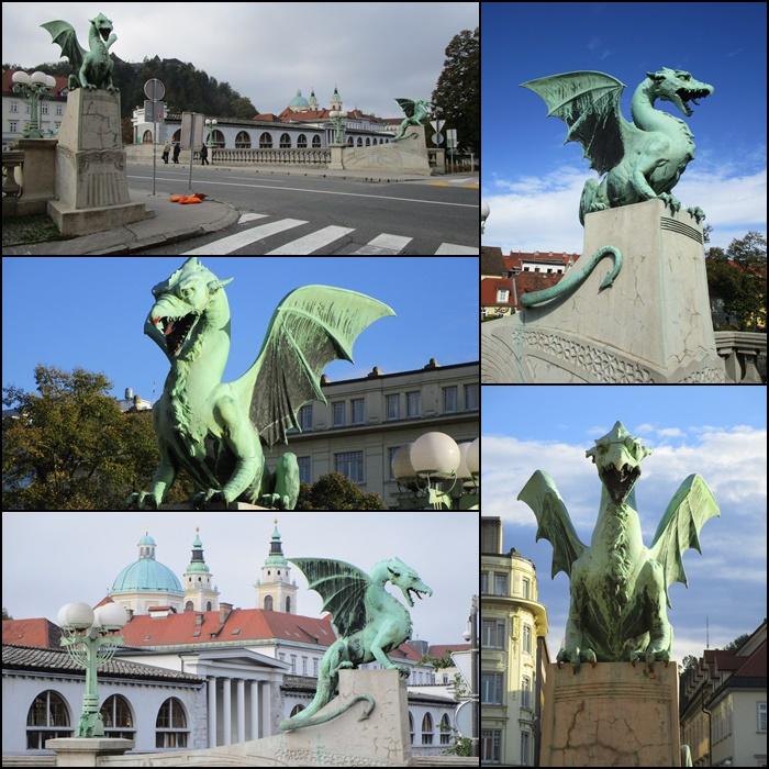 The Dragon Bridge Ljubljana Slovenia