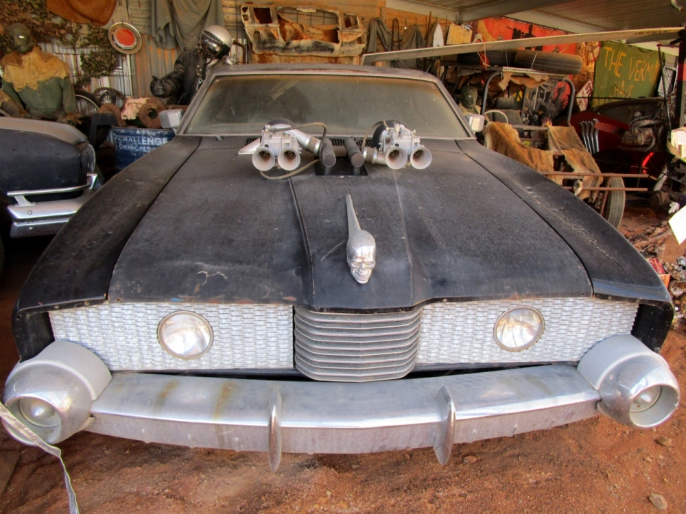 Ford Landau (replica) Mad Max 2 Museum Silverton NSW