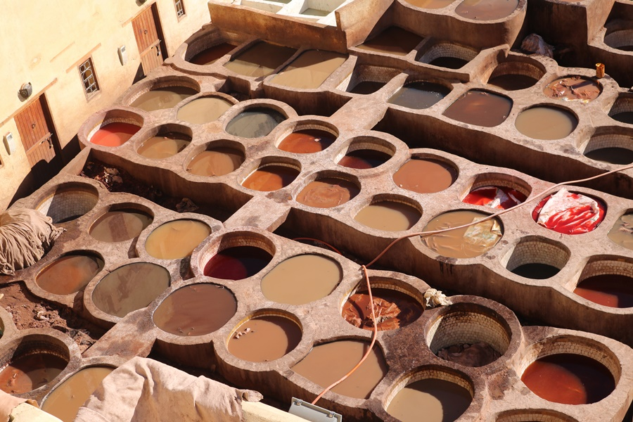 Chouwara Leather Tannery Fes Morocco