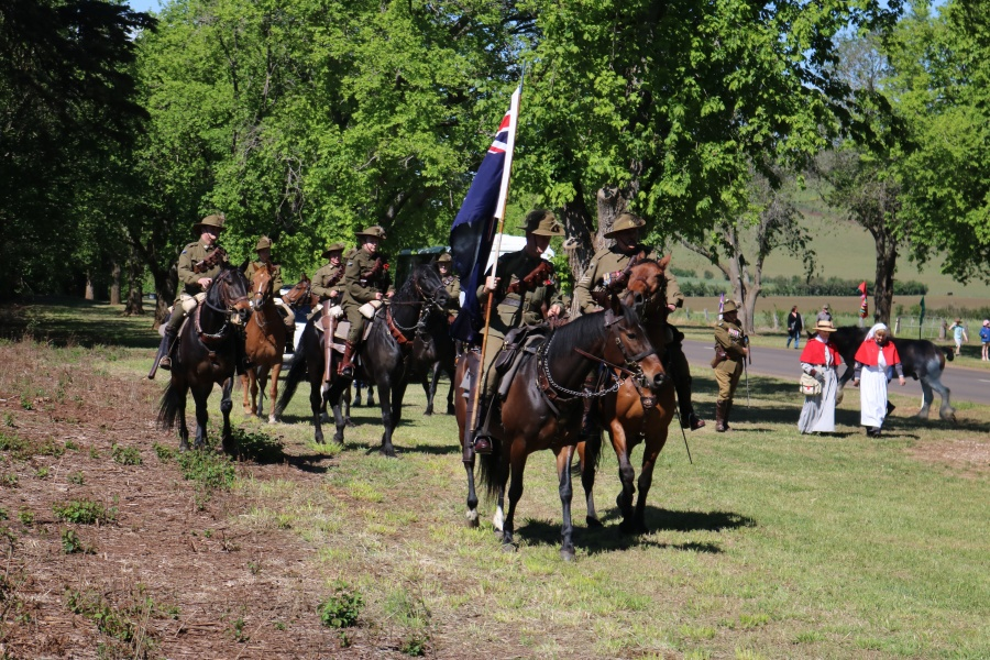 Remembrance Day 2018 - Kingston Avenue of Honour Centenary Creswick Light Horse Troop